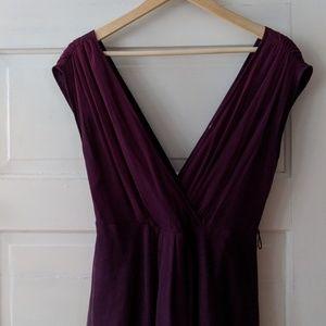 Anthropologie Moulinette Soeurs Purple Tulle Dress